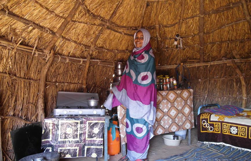 Darfur low smoke stoves project